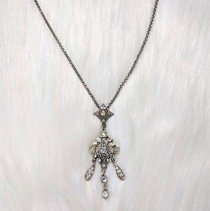 Jewelry - Iridescent Rhinestone Pendant